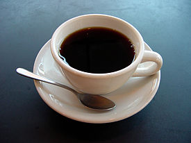 My delicious cup ofcoffee