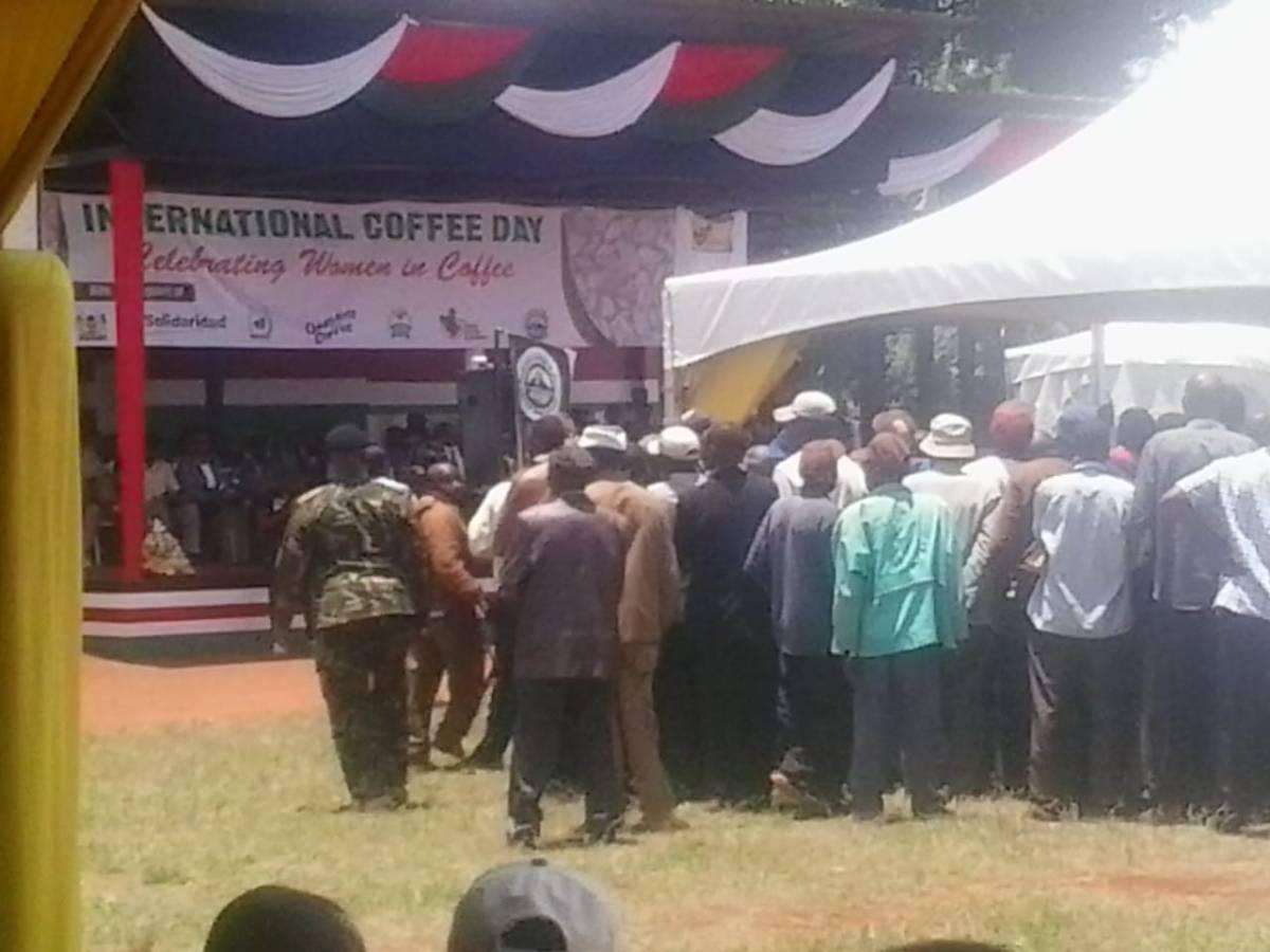 International coffee day celebration-How it went down inKenya